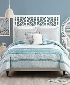 Bonnie 3 Piece King Comforter Set