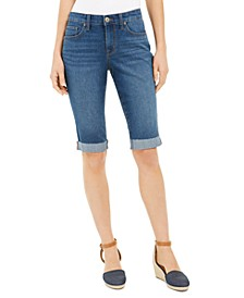 Cuffed Skinny Skimmer Jeans, Created for Macy's