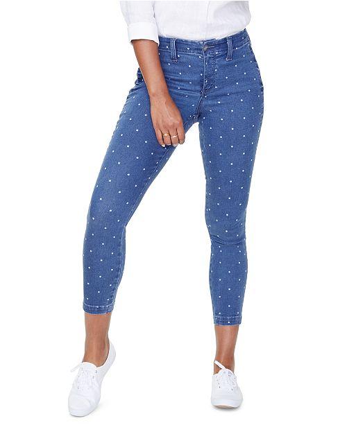 NYDJ Dot-Print Ami Jeans