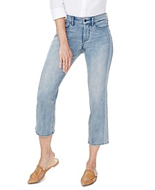 Marilyn Tummy-Control Cropped Straight-Leg Jeans
