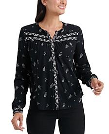 Printed Knit Shirt