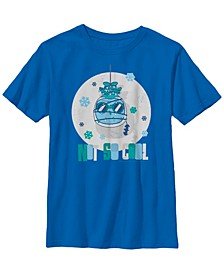 DC Comics Little and Big Boys Batman Mr. Freeze Not So Cool Short Sleeve T-Shirt