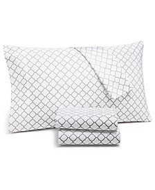 Arabesque Geo Extra Deep Sheet Sets,  550-Thread Count Supima Cotton Created for Macy's