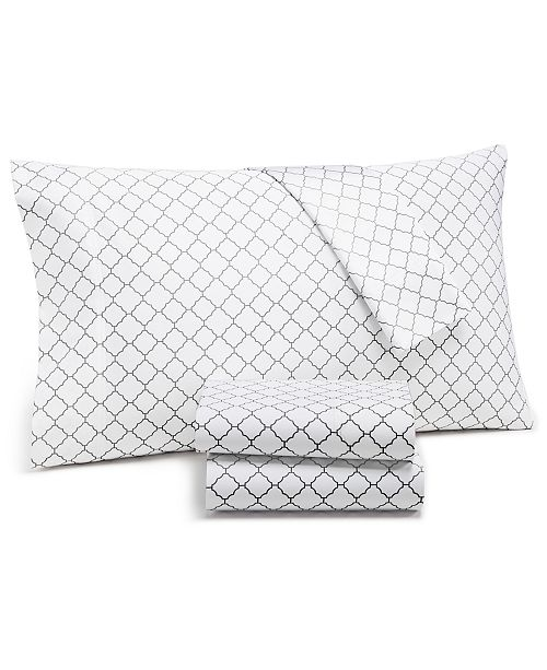 Charter Club Arabesque Geo King Pillowcases, 550-Thread Count Supima Cotton Created for Macy's