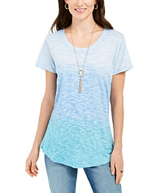 Cotton Ombré T-Shirt, Created For Macy's