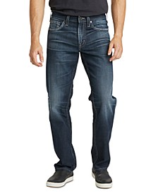 Men's Eddie Relaxed Fit Tapered Jeans