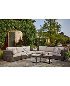 Viewport Outdoor Modular Seating, with Sunbrella® Cushions, Created for Macy's