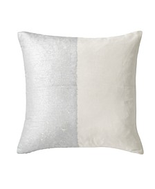 Metallic Texture Decorative Pillow