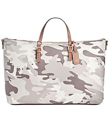 Julia Camo Extra-Large Nylon Weekender