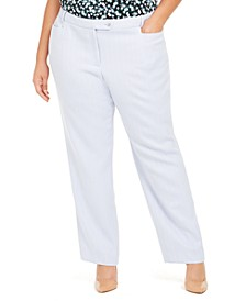 Plus Size Modern-Fit Pants