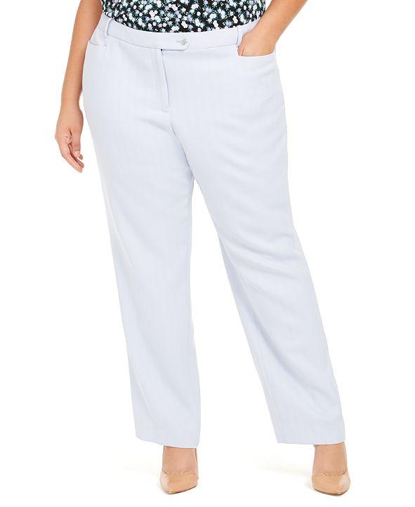 Calvin Klein Plus Size Modern-Fit Pants