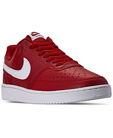 Men's NikeCourt Vision Low Casual Sneakers from Finish Line