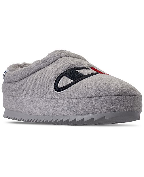 Champion Women's Shuffle Script Slippers from Finish Line