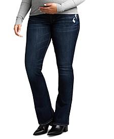 Elyse Slim-Fit Bootcut Maternity Jean