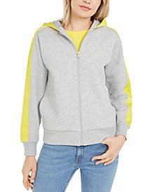 Cotton Two-Tone Hoodie