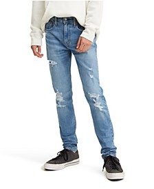 Levi's® Flex Men's Skinny Taper Ripped Jeans