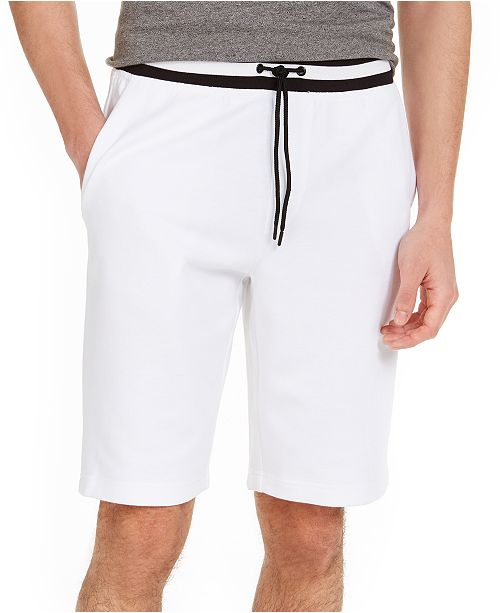Ideology Men's Contrast-Trim Shorts, Created For Macy's