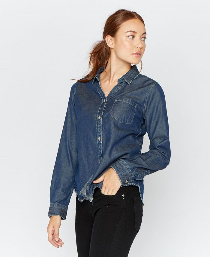 Thread and Supply - Chambray Long Sleeve Button Down