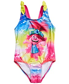 Little Girls 1-Pc. Trolls Swim Suit