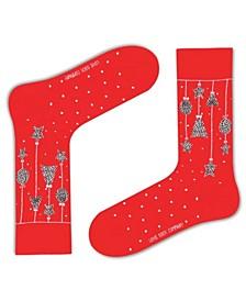 Women's Christmas Ornament Organic Cotton Socks