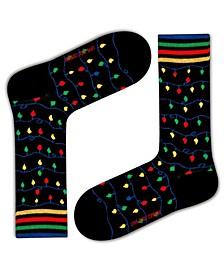 Christmas Lights Organic Cotton Socks Gift Box