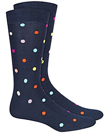 Men's Rainbow Dot Socks, Created for Macy's