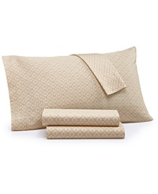 Eden Cotton 4-Pc. California King Sheet Set, Created for Macy's