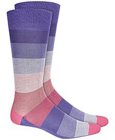 Men's Striped Socks, Created For Macy's
