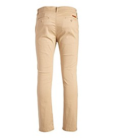 Mens Slim Fit Cotton Stretch Chino Pants