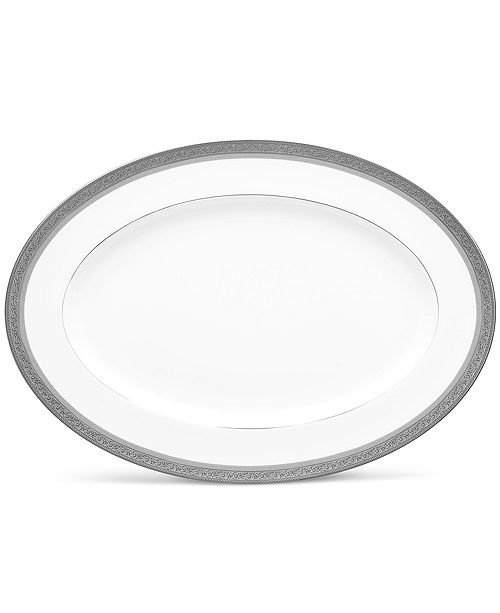 Noritake Summit Platinum Oval Platter, 16""