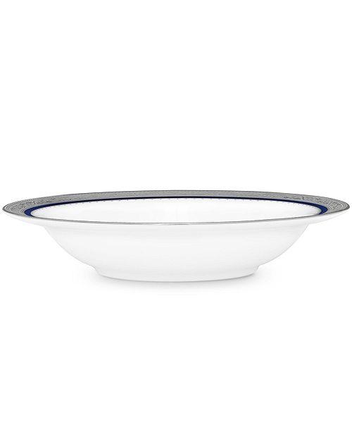 "Noritake Odessa Cobalt Platinum Fruit Bowl, 6"", 5 Oz."