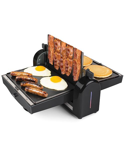 Nostalgia FBG2 Bacon Press and Breakfast Griddle