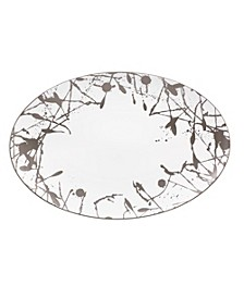 Raptures Platinum Oval Platter