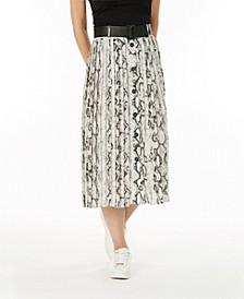 Belted Skirt