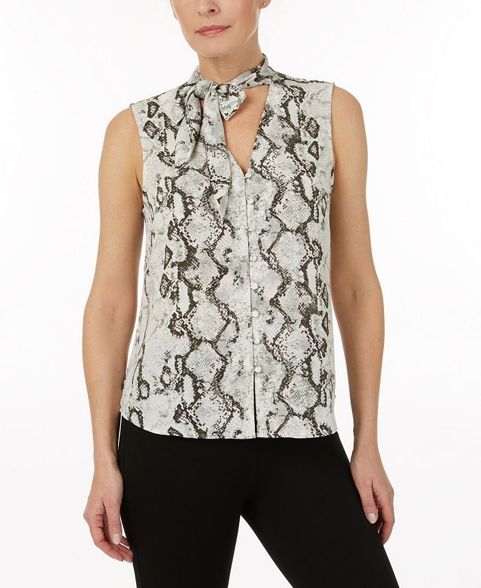 Laundry by Shelli Segal - Tie neck top