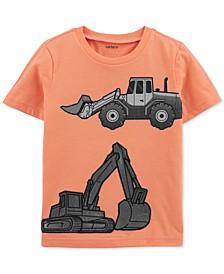 Toddler Boys Cotton Construction T-Shirt
