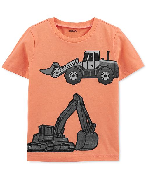 Carter's Toddler Boys Cotton Construction T-Shirt
