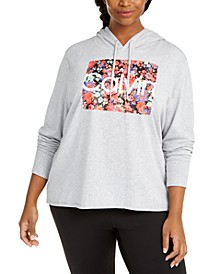 Plus Size Hooded T-Shirt