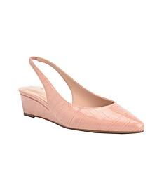 Caiman Dress Wedge Heels
