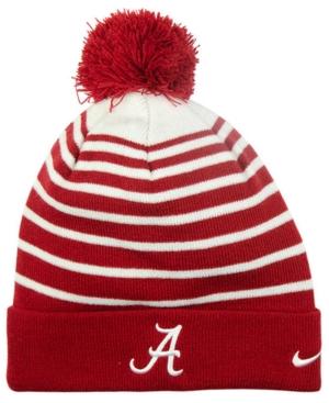 Nike Alabama Crimson Tide Sideline Cuffed Pom Knit Hat
