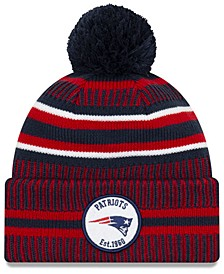 Boys' New England Patriots Home Sport Knit Hat