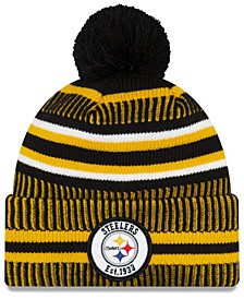 Boys' Pittsburgh Steelers Home Sport Knit Hat