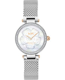 Women's Park Stainless Steel Mesh Bracelet Watch 26mm