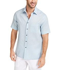 Men's Medallion Print Shirt, Created for Macy's