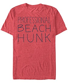 Men's Steven Universe Professional Beach Hunk Short Sleeve T- shirt