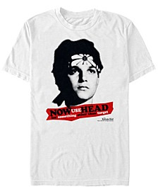 Men's Daniel Larusso Use Your Head Short Sleeve T- shirt