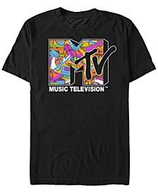 Men's Retro Icons Logo Short Sleeve T- shirt