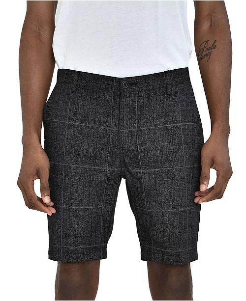 Members Only Windowpane Shorts