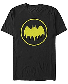 DC Men's Batman Circle Logo Short Sleeve T-Shirt