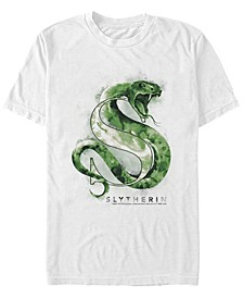 Harry Potter Men's Slytherin Mystic Wash Short Sleeve T-Shirt